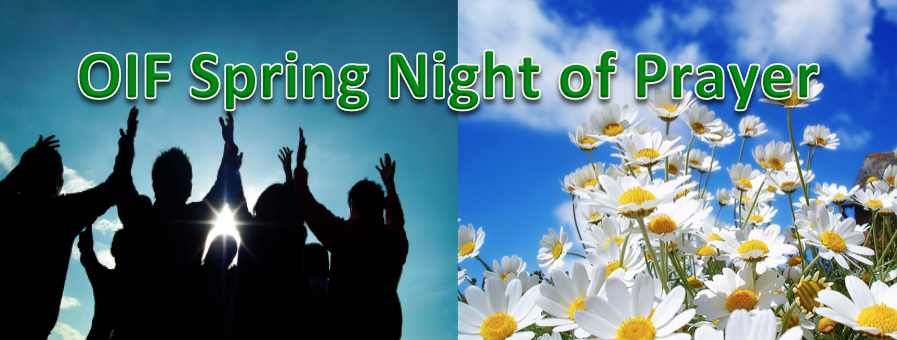Spring Night Prayer