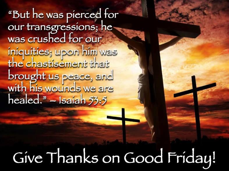 Good Friday Service 2014