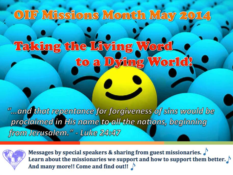 Missions Month 2014