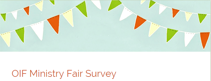 Ministry Fair Survey